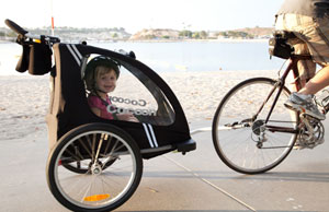 bike trailer | the petite consumer
