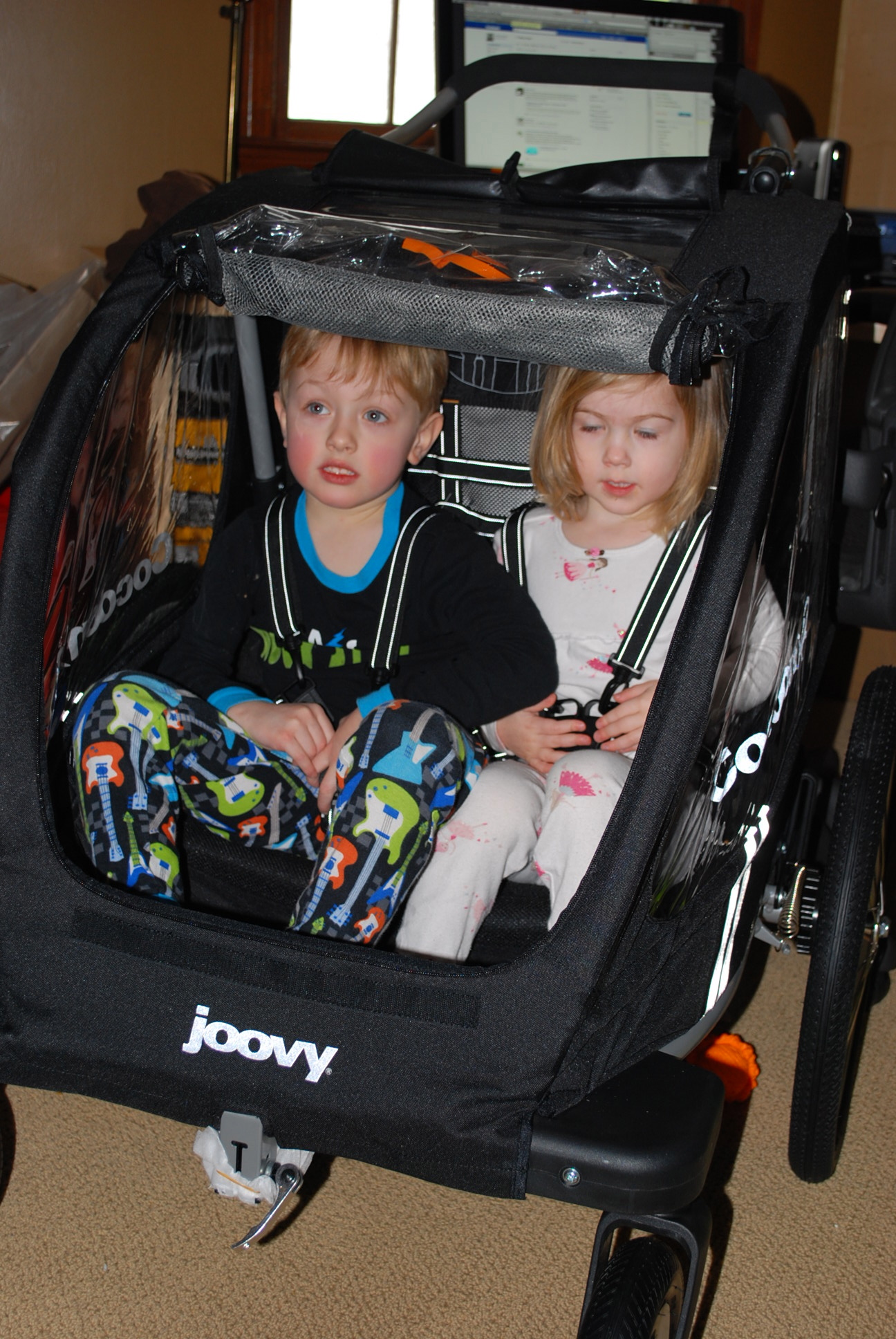 This Double Stroller Is Three Times The Fun Joovy