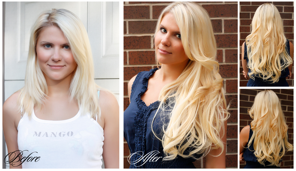 How To Put In Luxy Hair Extensions Images Hair Extensions For